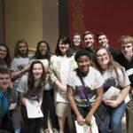 Tartan High School students meet with Sen. Kent.