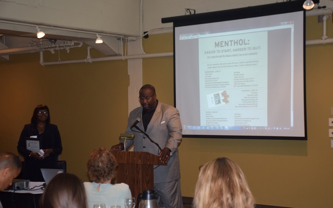 ANSR participates in community discussions on menthol