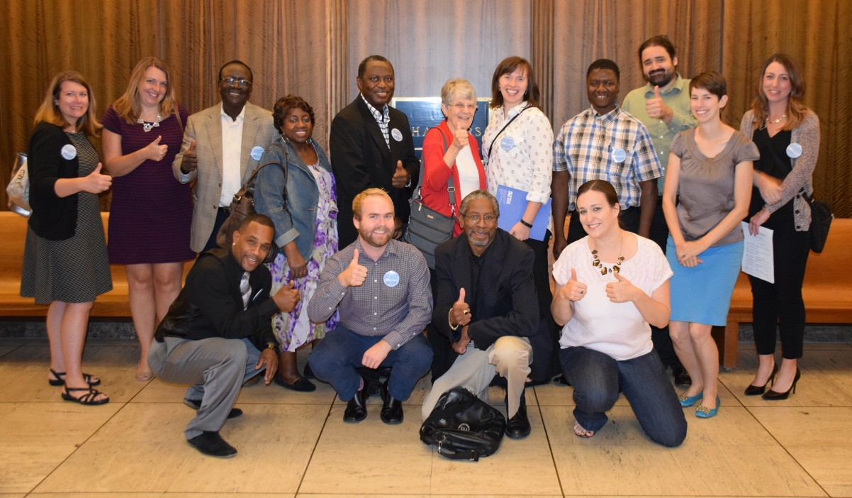 Thumbs up to celebrate Ramsey County Commissioners vote