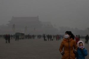 In 2014, Beijing, China had 6 days with an air quality index over 500 (greater than the emergency/hazardous category). (Feng Li/Getty Images)