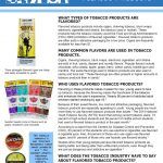 Flavored Products Fact Sheet