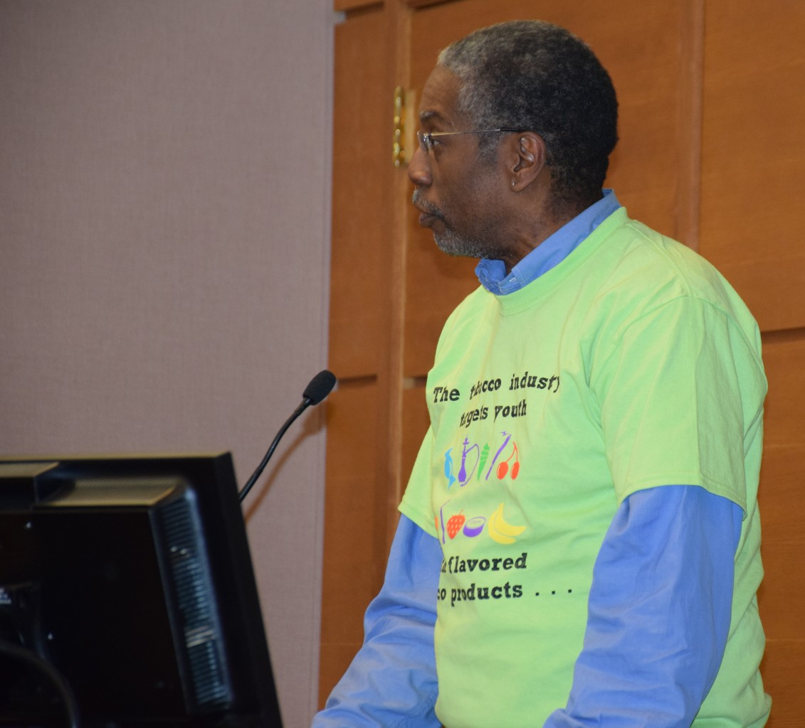 Gene Nichols, a Shoreview resident, testified at the council meeting in support.